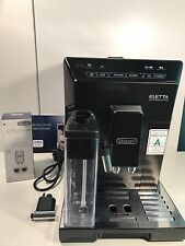 DELONGI ELETTA CAPPUCCINO AUTOMATIC COFFEE MAKER ECAM44.660.B BEAN TO CUP