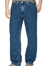 Levis Men jeans Baggy Fit 36 x 32 medium wash Wide Legs 98$ hip to ankle NWT new