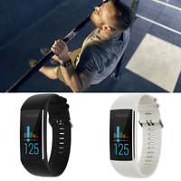 Polar A370 Fitness Watch Wrist Based Heart Rate GPS Ruining Black White Band NEW