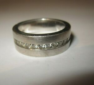 EDEL  Ring   Silber    925   Krone TC    Zirkonia      Gr  52  / 16,5 mm