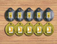 Goldbarren 10 Stück á 0,10 Gramm - PIM Gold Barren 0,1g 0,10g 1g 999,9 Geschenk!