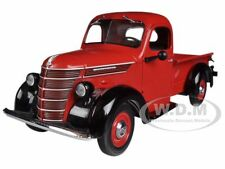 1938 INTERNATIONAL D-2 PICKUP TRUCK IH RED/BLACK 1/25 BY FIRST GEAR 40-0290