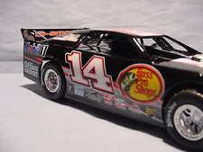 2011 TONY STEWART BASS PRO SHOPS DIRT LATE MODEL RACE CAR 1:24 CHEVY DIECAST