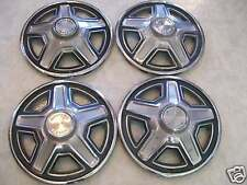 1969 FORD MUSTANG HUBCAPS / SET OF FOUR