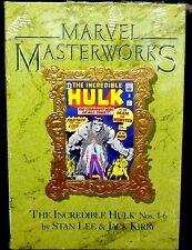 Marvel Masterworks Hulk Volume 1 Hardcover Book 1998 1st print