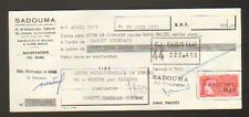 "PARIS (XI°) MACHINES-OUTILS & OUTILLAGE ""SADOUMA"" en 1971"