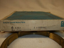 """GENERAL MOTORS,  SYNCHRONIZER CONES # 3960367 / 3993036  """"NEW OLD STOCK"""""""