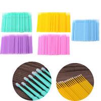100Pcs Individual Lash Removing Brush Micro Eyelash Extension Tools Disposable