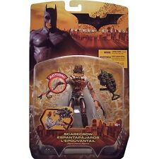 Batman Begins 2005 Scarecrow Bloody Variant Action Figure by Mattel Nib
