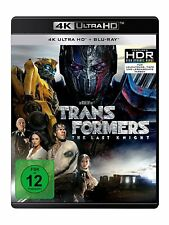 4K Ultra HD Blu-ray * TRANSFORMERS 5 - THE LAST KNIGHT | M. WAHLBERG # NEU OVP +