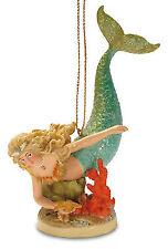 Mermaid Hideaway Hanging Christmas Tree Ornament