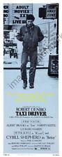 Taxi Driver Movie Poster Insert #01 Replica