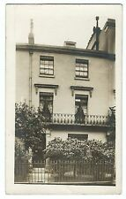 Unidentified Urban Terraced House With Balcony RP PPC, Unposted