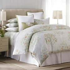 5 PC NEW Barbara Barry Full-Queen Bouquet  Floral Duvet Cover Set