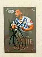 ✺Signed✺ 2016 Elite Ryan James (Gold Coast Titans) NRL Rugby League card