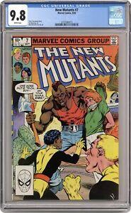 New Mutants #7 CGC 9.8 1983 3737080013