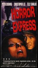Horror Express (1972) VHS, Peter Cushing, Christopher Lee, Telly Savalas **NEW**
