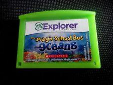 LeapFrog The Magic School Bus Oceans Learning Game LeapPad Leapster Explorer C