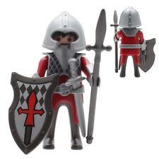 Playmobil Ritter Figurine Egg Peak Shield wangenschutzhelm Dark Red