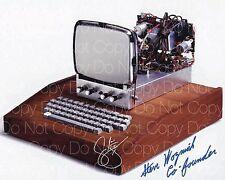Apple 1 signed Steve Jobs Steve Wozniak 8X10 photo picture poster autograph RP
