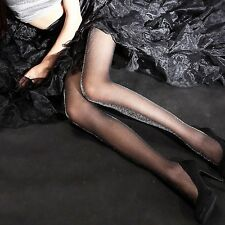 Quality Silver Glitter Stockings Women Glossy Tights Shimmer Shiny Pantyhose