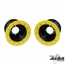 LTZ 400 LTR 450 Pair  Rear Wheels  Beadlock 10x8  5+3  4/110  Alba   BY
