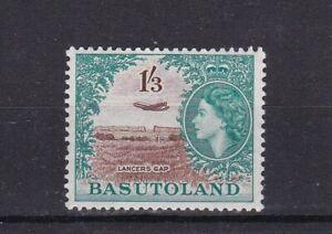 BASUTOLAND 1954 QEII 1/3d DEFINITIVE LIGHTLY HINGED MINT
