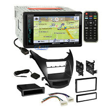 Soundstream DVD Sirius GPS Stereo Dash Kit Harness for 2011-13 Hyundai Elantra