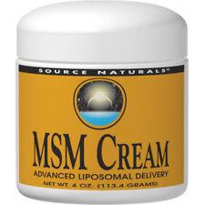 Source Naturals MSM Cream  - 4 oz.