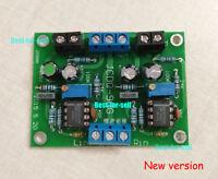 HIFI NE5534 DC Buffer Stereo OP-AMP Preamplifier Preamp Board support OPA627