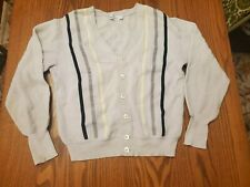 Vintage Men's Neiman Marcus Sweater Cardigan - L / XL