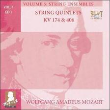 Mozart Volume 5 String Ensembles. String Quintets KV 174 & 406 CD
