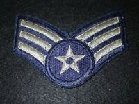 VINTAGE U.S AIR FORCE STAFF SERGEANT RANK INSIGNIA STRIPE PATCHES P7