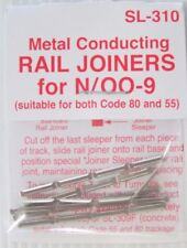 PECO SL-310 N SCALE  & 00-9   TRACK JOINERS SUIT CODE 80 & 55 RAIL