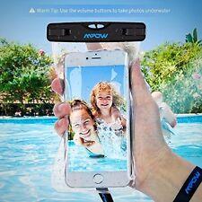 Universal Dry Bag Water Resistant Case 2 Pack Travel Phone Wallet Money Holder