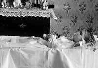 Antique Post Mortem Child Casket Photo 314 Oddleys Strange & Bizarre
