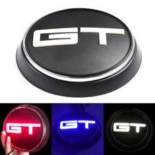 Red/Blue/White GT Logo Car Trunk Lid Emblem Rear LED Light for Mustang 2015-2019