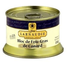 Bloc of Duck Foie Gras de Canard Jean Larnaudie 130 gr - Luxury French Product