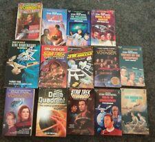 Joblot star Trek Novels voyager and original  x14 45 25 32 79 42 39 31  books