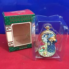 Enesco Treasury Ornament Time For Christmas Lucy & Me 1987 New E13