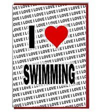 Greeting Card - Birthday Card - I Love Swimming