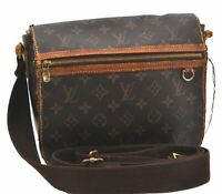 Auth Louis Vuitton Monogram Messenger Bosphore PM Shoulder Bag M40106 LV B4617