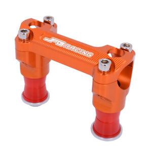 28mm CNC HandleBar Riser Mount Clamp For SX150 SX250 SXF350 XCF450 XC250 XC300