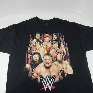 WW Wrestling Group T-Shirt Off Size XL Black John Cena U Dont C Me