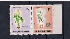 Albania Albanien Albanie 1986 Flowers #2203-04 MNH $12