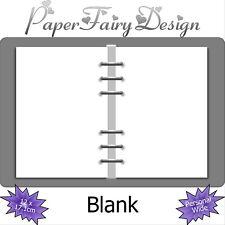 Kalendereinlagen Leer/Blank in Personal Wide, Terminplaner, filofaxing, Notizen,