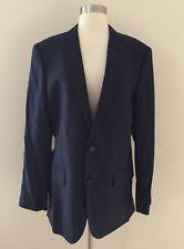 J.CREW $995 LUDLOW SUIT JACKET 100% ITALIAN CASHMERE 40R NAVY BLUE BLAZER 34394