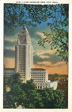 OLD DB Postcard AH B631 Los Angeles New City Hall California CALIF Kashower