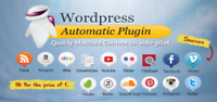 Automatic Plugin Wordpress, Posts from almost any website to WP, Version 2020