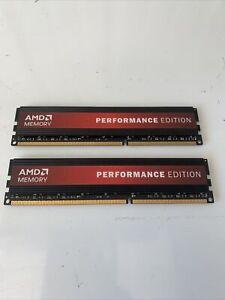 AMD Performance Edition 8GB (2 x 4GB) DDR3 Lot Of 2